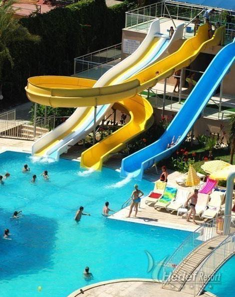 Фото отеля Hedef Resort Hotel 5* (Хедеф Резорт Отель 5*)