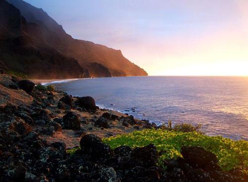 Фото - Побережье На Пали (Кауаи, Гавайи, США)