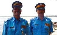 Фото - туристическая полиция Гоа - Tourist Security Force (TSF) - Индия