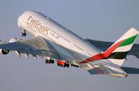 """Фото - Самолет авикомпании Emirates (""""Эмирейтс"""")"""