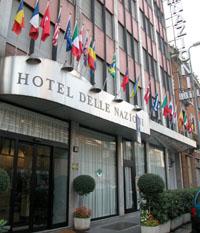 Фото отеля Hotel Delle Nazioni Milano 3* (Отель Делле Национи Милан 3*)