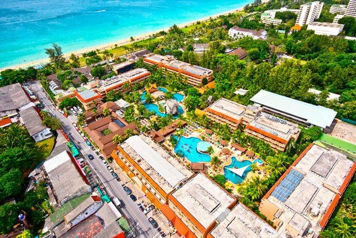 Фото отеля Phuket Orchid Resort 4* (Пхукет Орхид Резорт 4*)