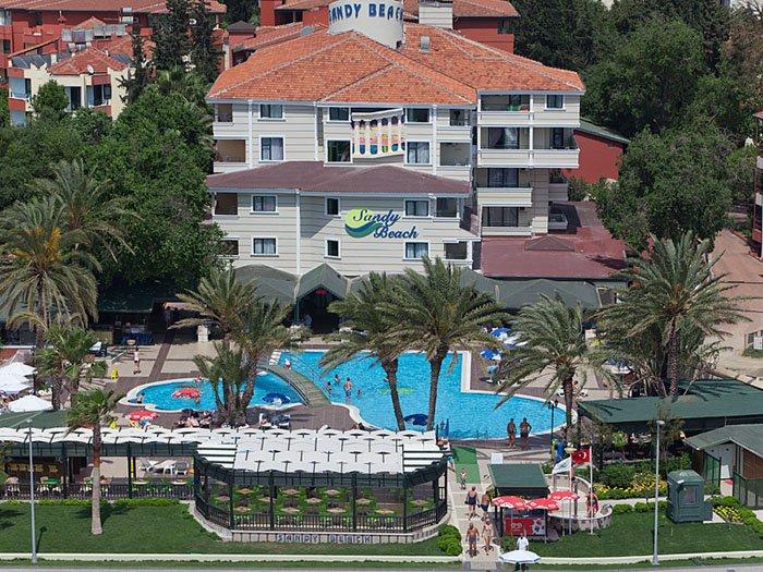 Фото отеля Sandy Beach Hotel 4* (Санди Бич Отель 4*)