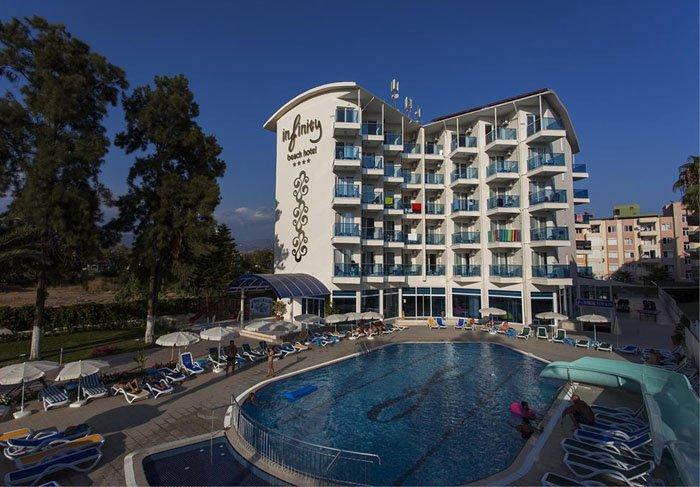 Фото отеля Infinity Beach Hotel 4* (Инфинити Бич Отель 4*)