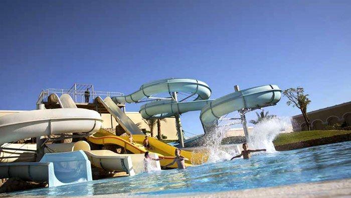 Водные горки отеля Jaz Mirabel Park 5* (Джаз Мирабель Парк 5*)