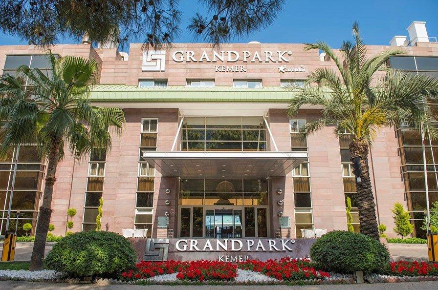 Фото отеля Grand Park Kemer 5* (Гранд Парк Кемер 5*)