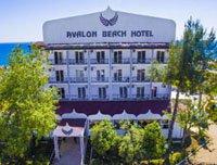 Вход в отель Avalon Beach Hotel 4* (Авалон Бич Отель 4*)