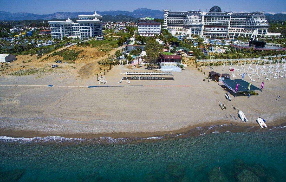 Панорма отеля Avalon Beach Hotel 4* (Авалон Бич Отель 4*)