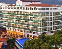 Панорама отеля Sunbay Park Hotel 4* (Санбей Парк Отель 4*)