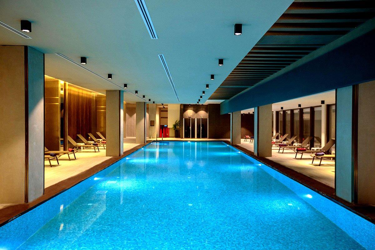 Крытый бассейн отеля Riolavitas Spa & Resort 5* (Риолавитас Спа энд Резорт 5*)