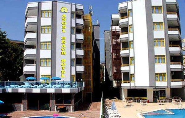 Здание отеля Angel Beach Hotel 4* (Ангел Бич Отель 4*)